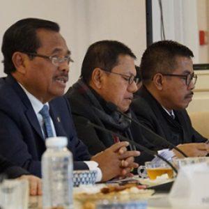 Jaksa Agung HM Prasetyo, Didampingi Jam Pidum Noor Rochmat, Dan Kabandiklat Setia Untung Arimuladi