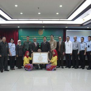 Pengadilan Negeri Jakarta Pusat Saat MoU Bersama Instansi Hukum Dan Stakeholder Pemerintah Pada Akhir Oktober Lalu, Dengan Mencanangkan Sistem Manajemen Anti Penyuapan (SMAP)