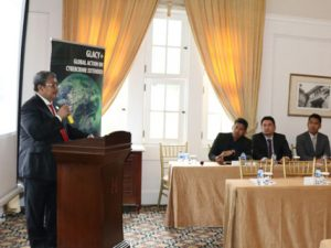 Wakil Jaksa Agung Dr Arminsyah SH.,Mhum, membacakan sambutan Jaksa Agung HM Prasetyo, saat membuka Workshop on Cybercrime and Elecktronic Evidence, di The Heritage Hotel, Menteng, Jakarta Pusat, Selasa (22/1/2019)